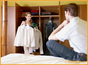 woman-asking-man-choose-clothes