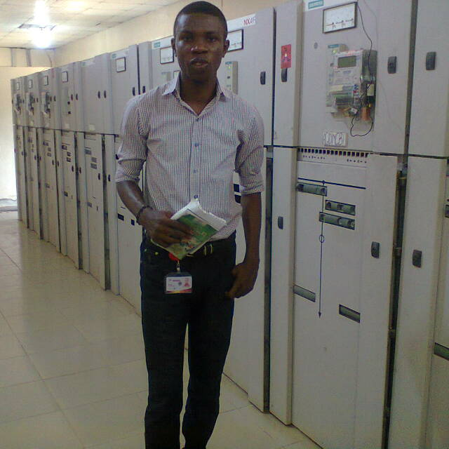 Ikhide at the Control Room