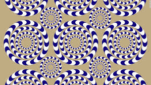 Are the circles moving or stationary?