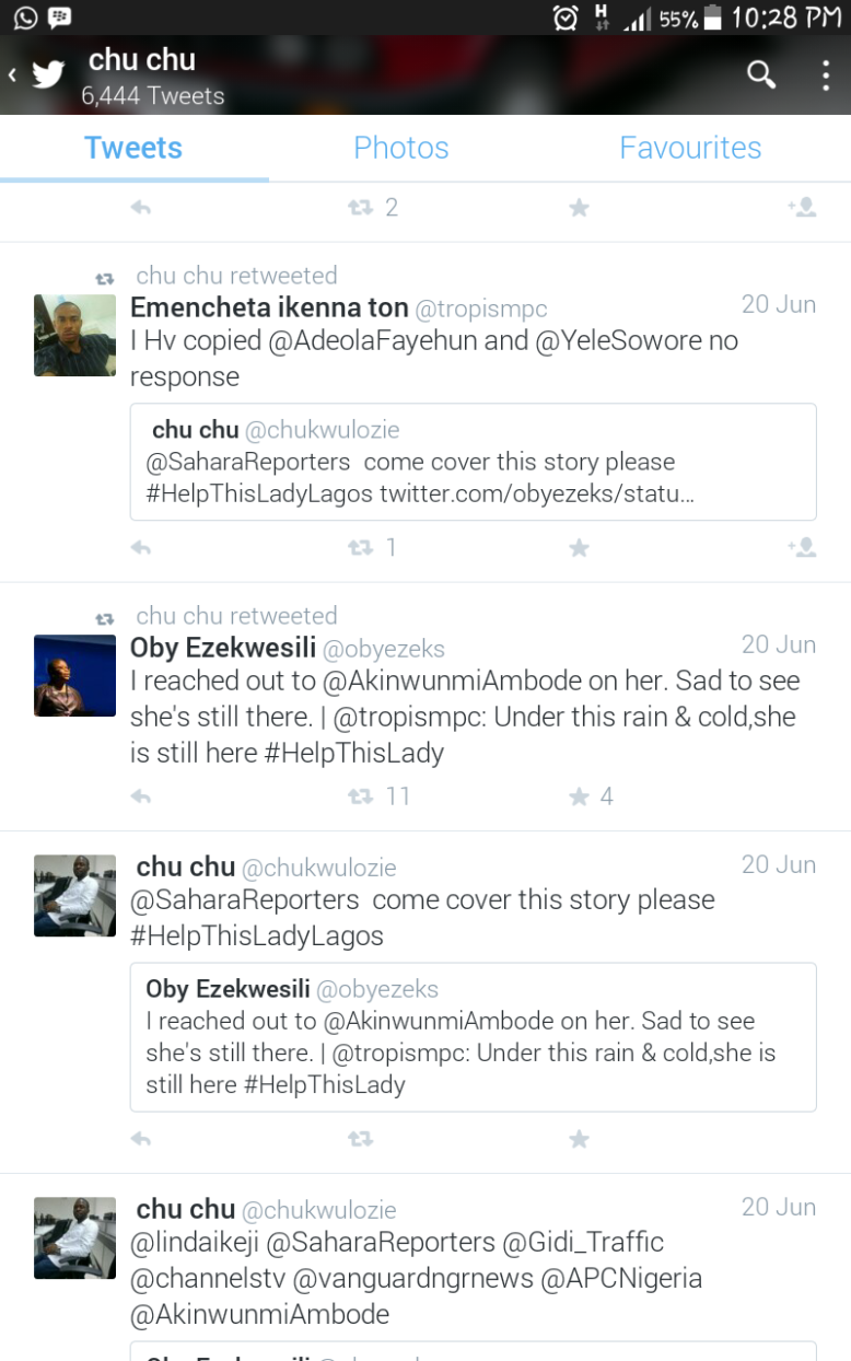 The rescue effort burst to life as Former Federal Minister, Oby Ezekwesili got involved in the twitter campaign as well as other notable media houses